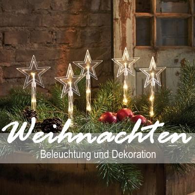 Weihnachten Beleuchtung und Dekoration