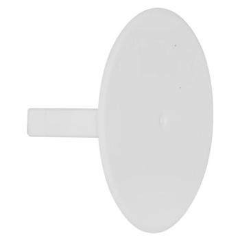Federdeckel weiß für Dosen 60 mm