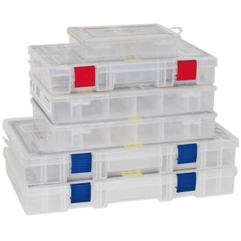 Kleinteilebox Sortimentsbox mit 6 festen Fächer, 28...