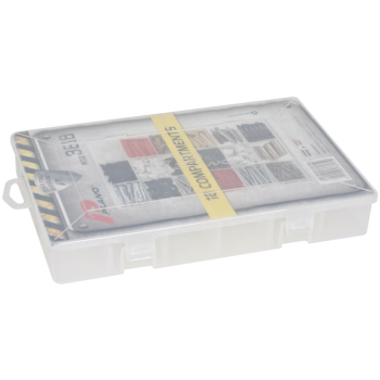 Kleinteilebox Sortimentsbox mit 18 festen Fächer, 28...