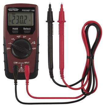 Digital-Multimeter mit T-RMS, Pocket 100,...