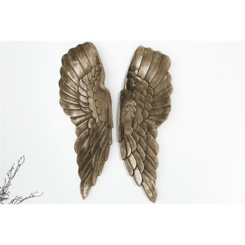 Wanddekoration Engelsflügel FALLEN ANGEL, 65 cm...