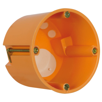 Hohlraum-Gerätedose winddicht, Tiefe 61 mm