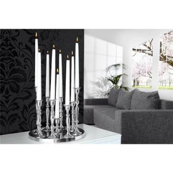 Kerzenständer 9-flammig silber