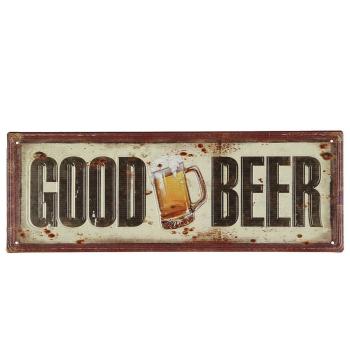 "Metallbild ""Good Beer"", Bild 36 cm"