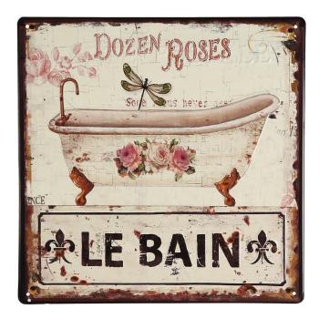 Metallbild - Le Bain 30 x 30cm