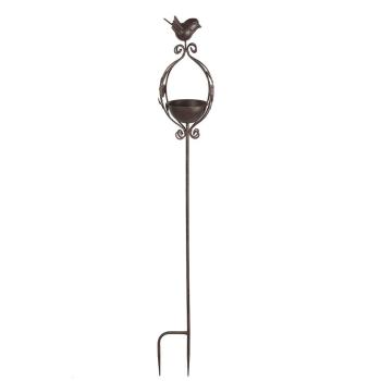 Vogelbad mit Gartenstecker 100 cm