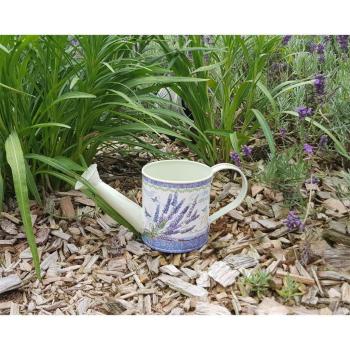 Deko Gießkanne Lavendel klein, 22 cm