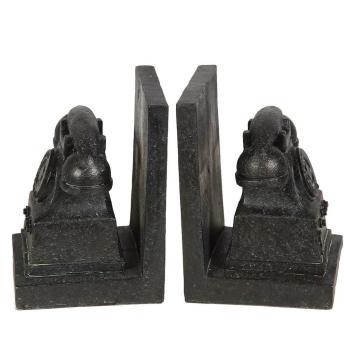 Buchstützen Telefon antikschwarz
