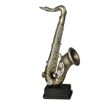 Saxophon antiksilber 12 cm
