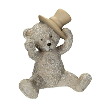 Bär mit Hut 7 cm