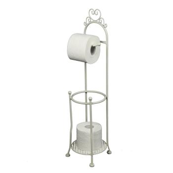 Toilettenrollenständer retro antikweis 70 cm