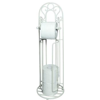 Toilettenrollenständer INCRETO antikweiß 72 cm
