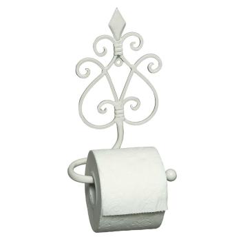 Increto Toilettenrollenhalter antik, weiß