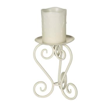 Kerzenständer antikweiss 20 cm