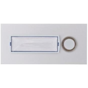Bittorf UP Klingeltaster 1-fach, Aluminium