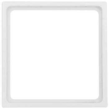 Zwischenrahmen, 50 x 50, reinweiß, Merten M1, Klein