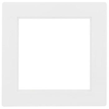 Zwischenrahmen, 50 x 50, reinweiß, Gira S-Color, Klein