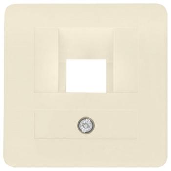 Kombi-Abdeckung, UAE, 1-fach, weiß, Klein 50 x 50