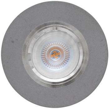 Einbauleuchte Beton grau, rund 1 x GU10