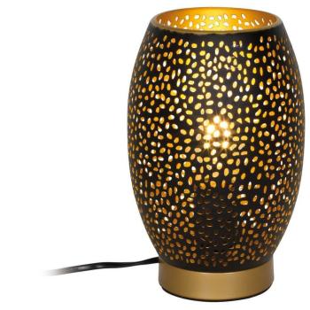 Tischleuchte NARRI Metall goldfarben/schwarz 24002S