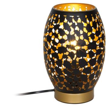 Tischleuchte NARRI Metall goldfarben/schwarz 24003S