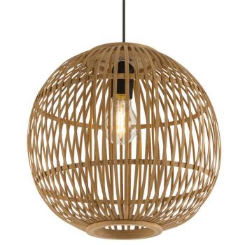 Hängeleuchte HILDEGARD, Bambus natur, 30 cm