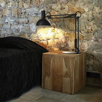 Schreibtischleuchte ARKI schwarz, 1 x E27