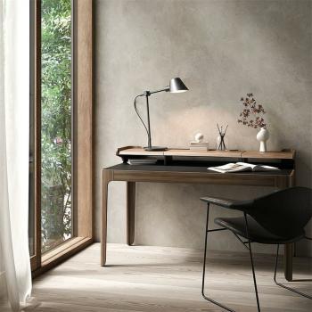 Schreibtischleuchte STAY LONG schwarz, 1 x E27