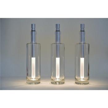 Flaschenleuchte Bottlelight LED weiß