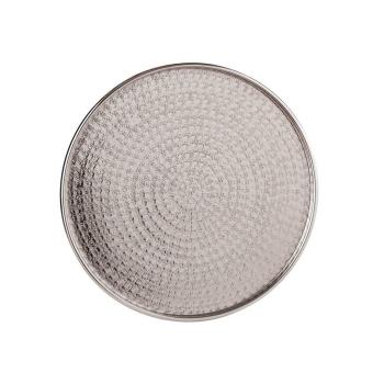 Serviertablett Dekotablett rund 40 cm, Aluminium...