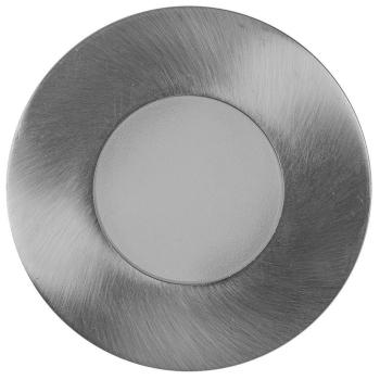 Einbauleuchte Qules rund Chrom matt 1 x GU10