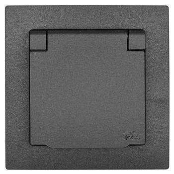 Kombi-Steckdose, mit Zentralplatte 55 x 55 mm, mit...
