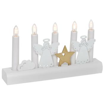Weihnachtsleuchter, JULIA, 5 x E10/55V/3W