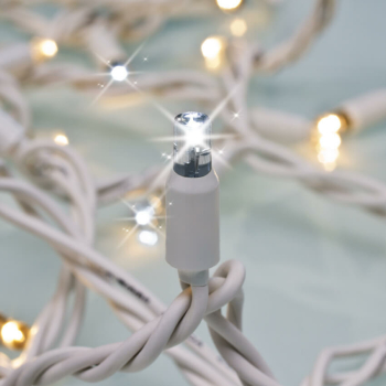 Minilichterkette FLASH, 50 LED/3,5W, 2700K, L 5 m,...