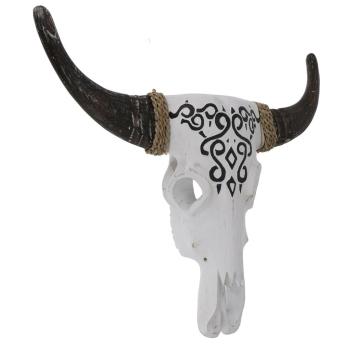 Wanddekoration Maske Buffalo Skull, 68 cm