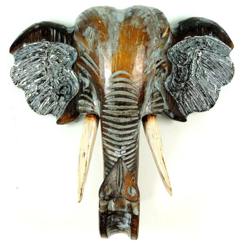 Wanddekoration Elefant Head, 30 cm