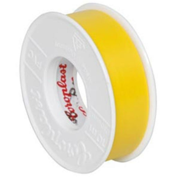 Isolierband, PVC, 10 m, gelb