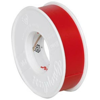Isolierband, PVC, 10 m, rot