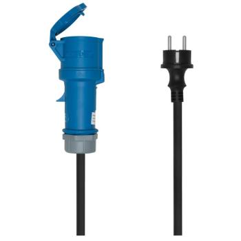 PCE Adapterleitung, Schutzkontakt/CEE 16A, 1,5 m