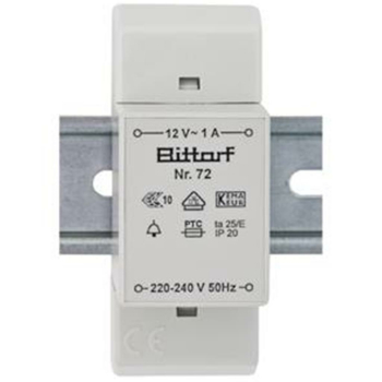 Bittorf Klingeltransformator, 12V/1A