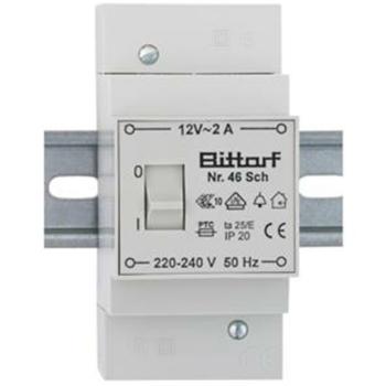 Bittorf Klingeltransformator mit Schalter, 12V/2A