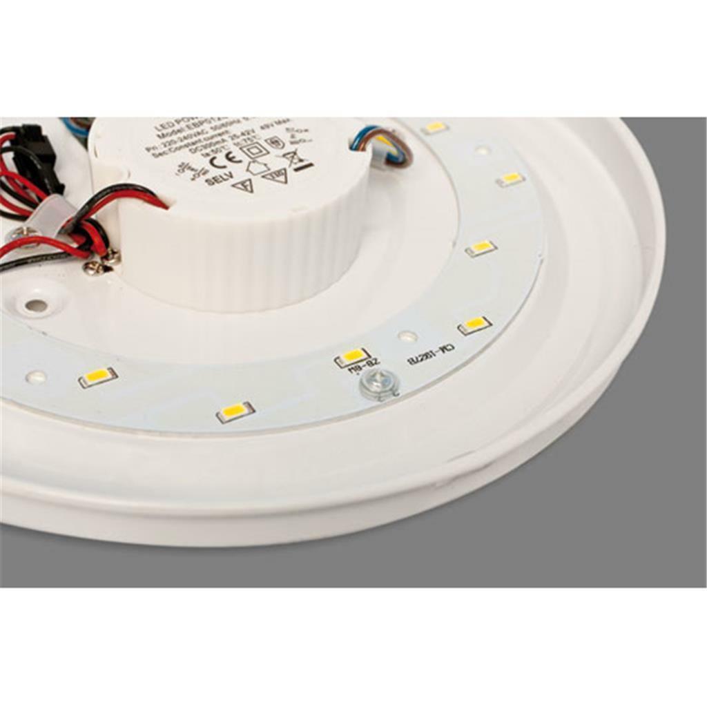 globo led deckenleuchte kirsten 12w 41672 lampen. Black Bedroom Furniture Sets. Home Design Ideas