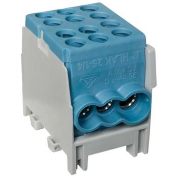 Hauptleitungs-Abzweigklemme, 1-polig, 25², blau