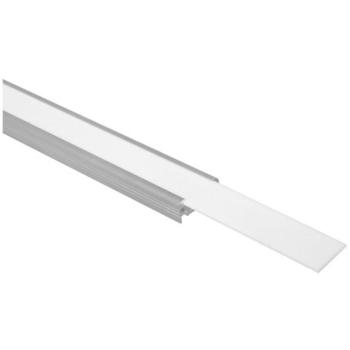 1m Profilabdeckung für H-Profil 20 und 25 mm, opal