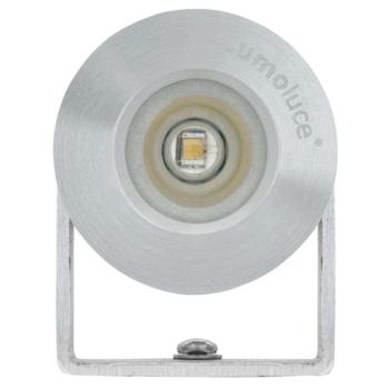 LED Anbaustrahler, 1 x LED, Aluminium gebürstet, 863682