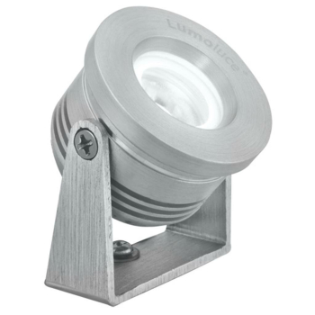 LED Anbaustrahler, 1 x LED, Aluminium gebürstet, 863680