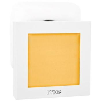 Nachtlicht, Kunststoff weiß, LED orange