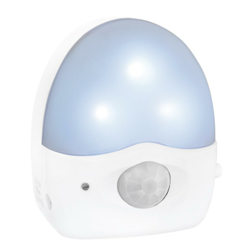 Nachtlicht, Batteriebetrieb, mit Sensor