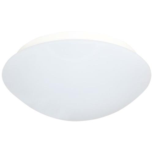 Deckenleuchte 1 x E27, Kunststoff opal